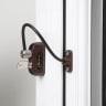 Jacklock Pro 5 Key Locking Window Restrictor White