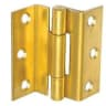 A Perry No.1951 Stormproof Hinge 63mm Zinc Plated