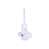 A Perry No.41 Single Screw Cast Pulley Nylon Wheel 44mm White