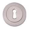 Fortessa Keyhole Escutcheon 8 x 51mm Satin Nickel Plated