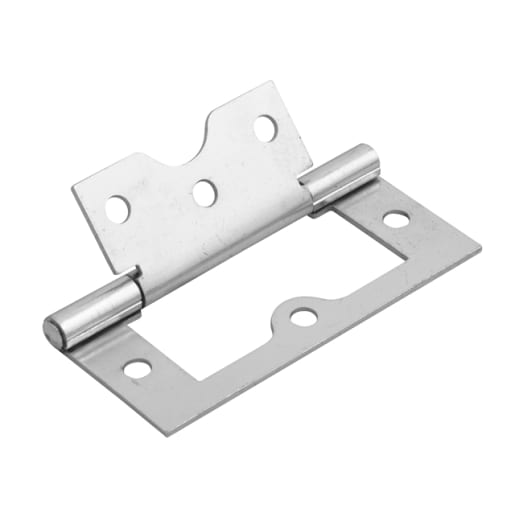 A Perry No.105 Flush Cabinet Hinge 75mm Zinc Plated