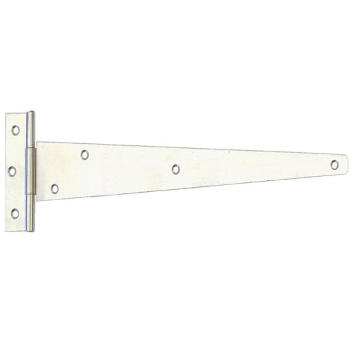 A Perry No.121 Light Tee Hinge 300mm Zinc Plated