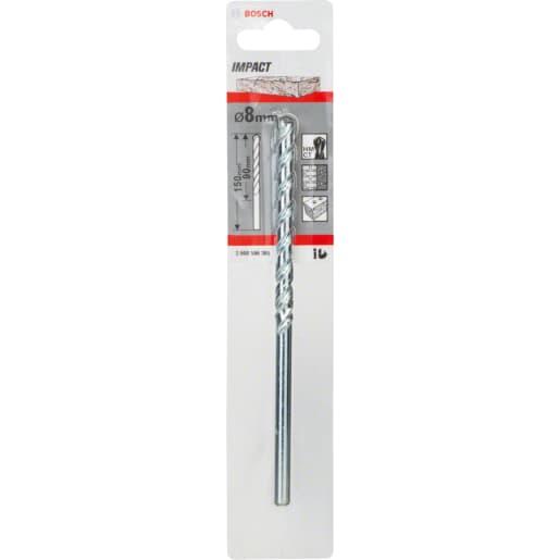 Bosch Impact Masonry Drill Bit 150 x 8mm