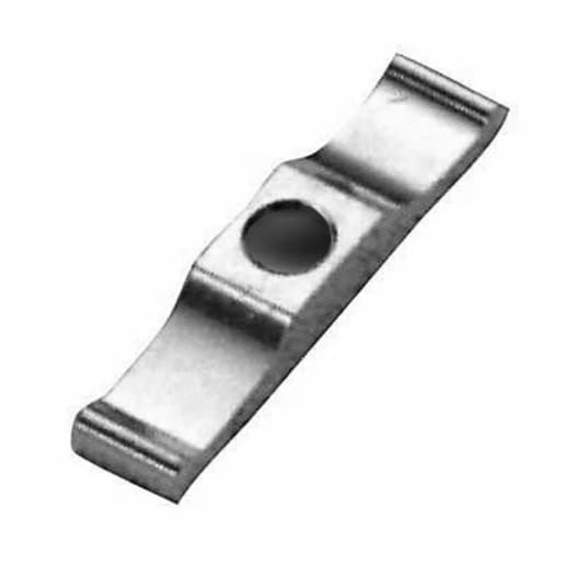 A Perry No.15 Plain Turn Buttons 50mm Zinc Plated