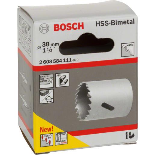 Bosch HSS Bi-Metal Holesaw 38mm Dia