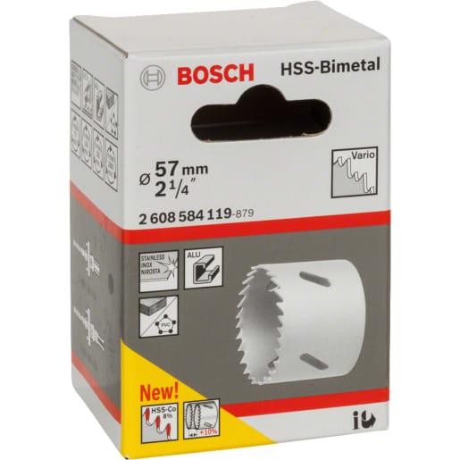Bosch HSS Bi-Metal Holesaw 57mm Dia