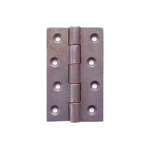A Perry No.200 Cast Iron Butt Hinge 100mm