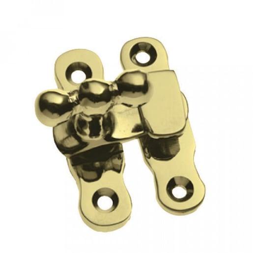 Hiatt Showcase Catches Polished Brass