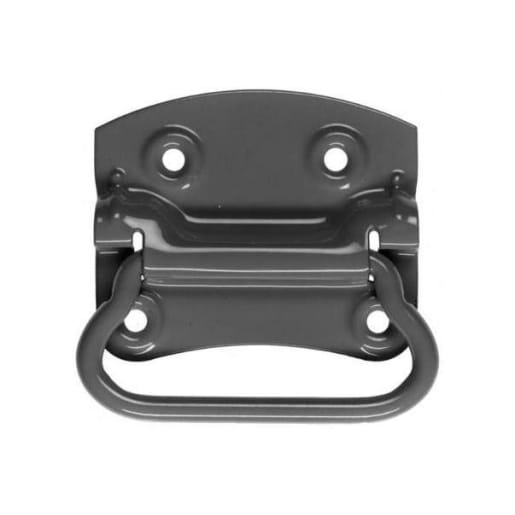 A Perry No.246 Heavy Chest Handle 100mm Black