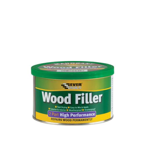 Everbuild 2-Part Wood Filler 500g Pine