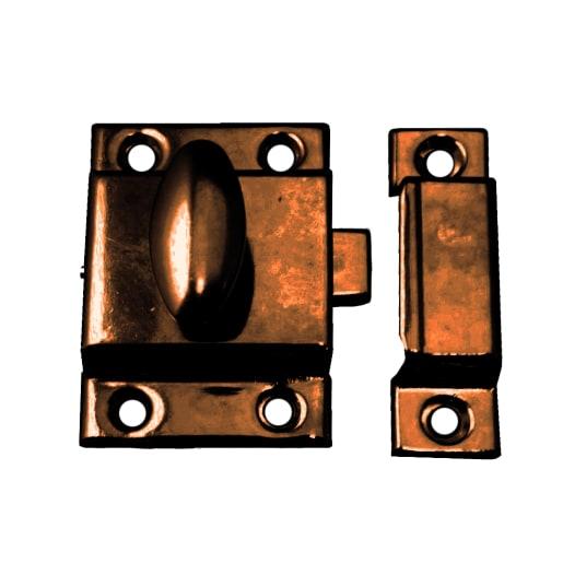 Cupboard Turn Catch 54mm x 54mm Florentine Bronze 348H