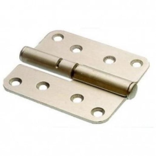 Assa Abloy Right Hand Hinge Countersunk 110mm L Bright Zinc Plated