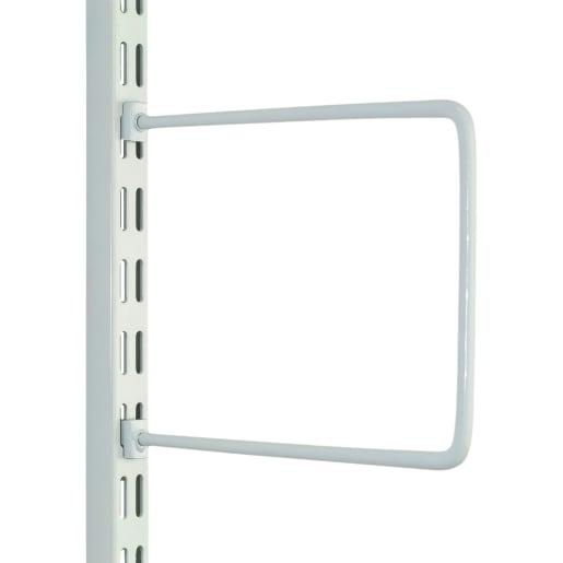 Fairways Bookends Flexible Pair White 150mm