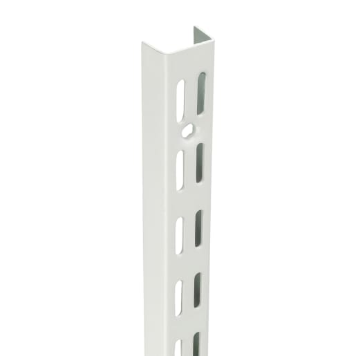 Fairways Twin Slot Shelf Upright White 1980mm DU1980
