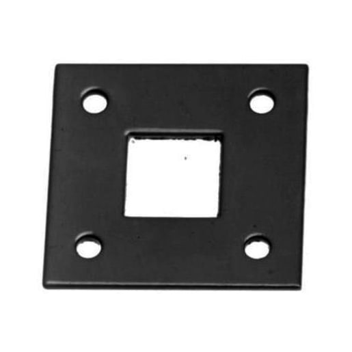 A Perry No.584 Receiver Plates for Square Bolts 16mm Black