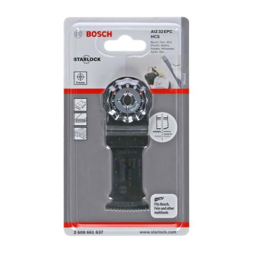 Bosch HCS Plunge Cut Saw Blade Wood 32 x 50mm Black
