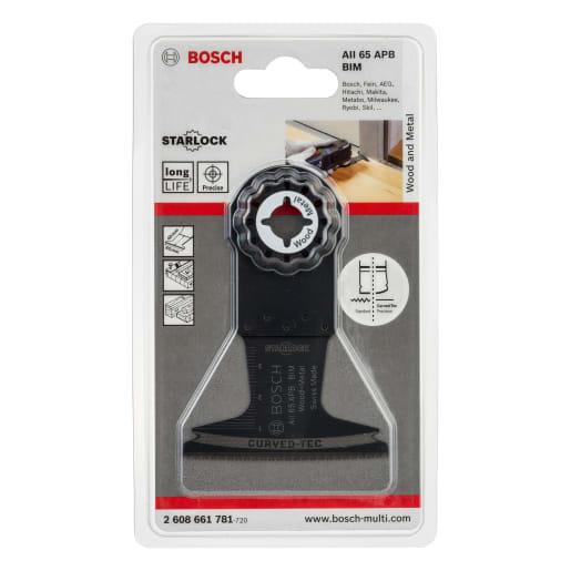 Bosch AIZ 65 BB BIM Plunge-Cutting Saw Blade 65 x 40 x 1.8mm Black