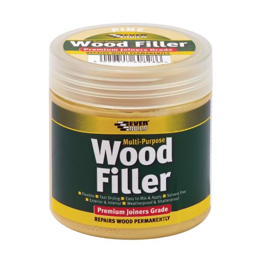 Everbuild Multi Purpose Wood Filler 250ml Pine