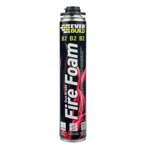 Everbuild Firefoam B2 GunGrade 750ml Pink Pack of 12