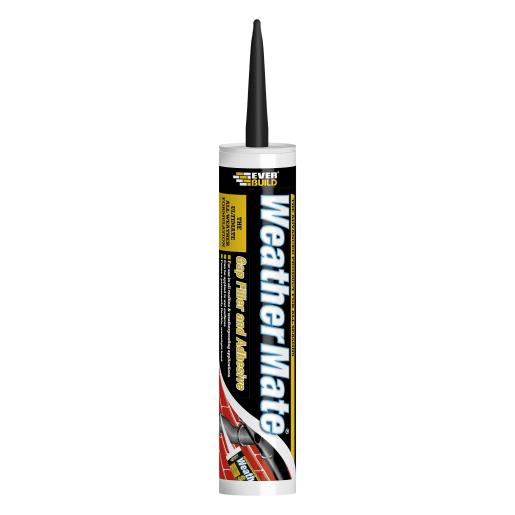 Everbuild Everflex Weather Mate Sealant Adhesive 295ml Black
