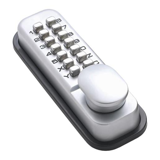 Briton Security Push Button Digital Code Lock Silver