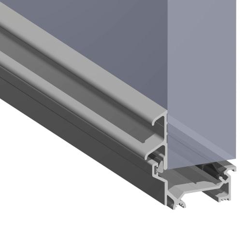 Stormguard DRY-X Winterbar Threshold Mill Aluminium 920mm