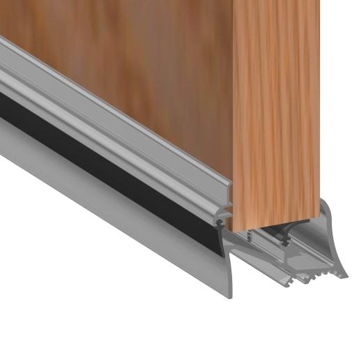 Stormguard Rubber Bottom of The Door Seal 914mm (L)
