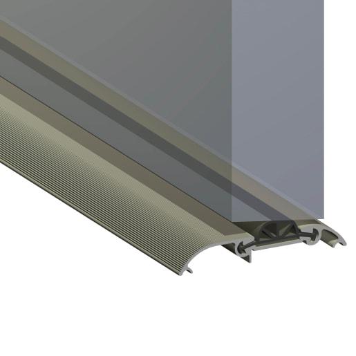 Stormguard CDX Aluminium Compression Draught Excluder 1828mm L