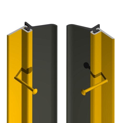 Stormguard RYT X Pin Fix Around Door Seal 2430mm (L) Gold