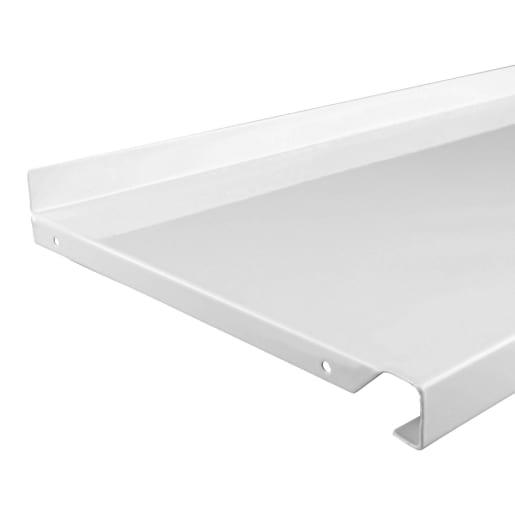 Fairways Shelf Steel White 1000mm x 470mm DSS1047