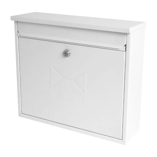 Sterling MB02 Elegance Post Box White