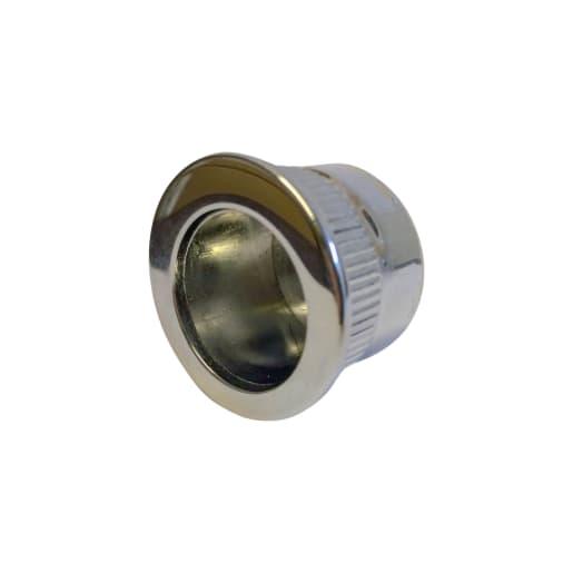 Manital Small Edge Flush Pull 29mm Dia Polished Chrome