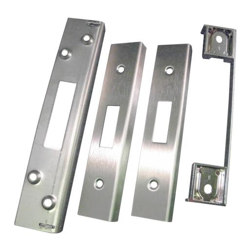 Eurospec Easi-T Rebate Set Deadlock 13mm L Satin Stainless Steel