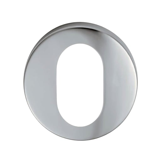 Eurospec Oval Profile Escutcheon 8 x 52mm Satin Stainless Steel