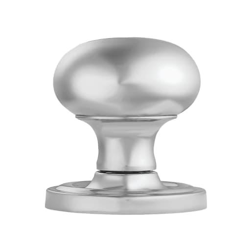 Carlisle Brass Concealed Fix Mushroom Mortice Knob 64.5mm