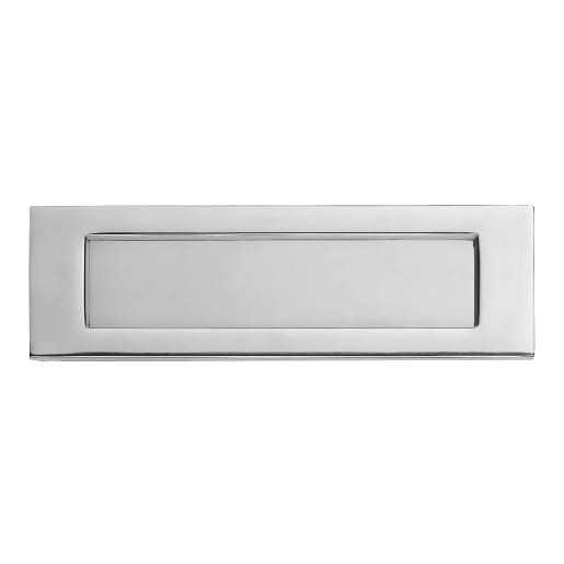 Carlisle Brass Victorian Letter Plate 276 x 94mm Polished Chrome