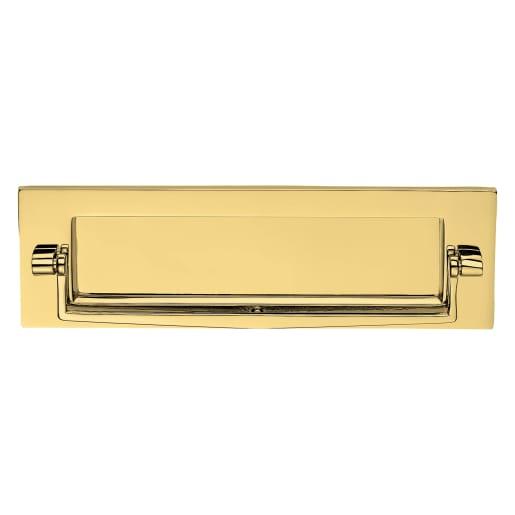 Carlisle Brass Victorian Postal Knocker 256 x 80mm Polished Brass