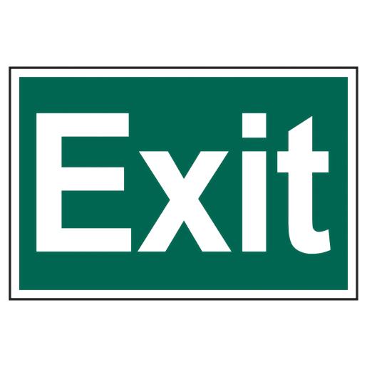 Spectrum 'Exit' Sign Self Adhesive 200 x 300mm