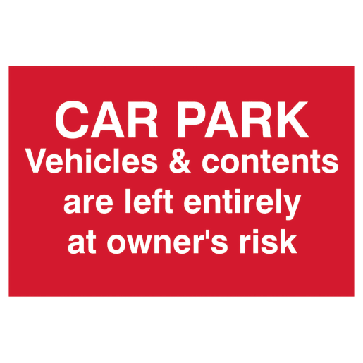 Spectrum 'Car Park Vehicles & Contents Are Left Entirely At Owner's'