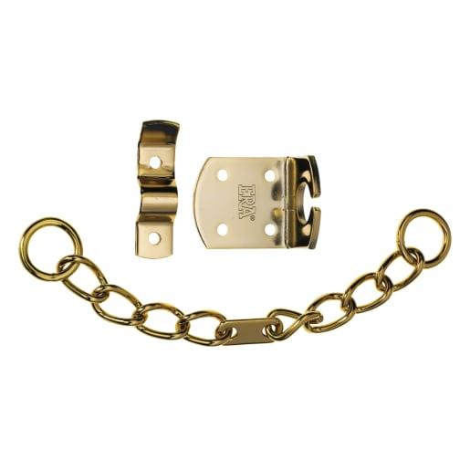 ERA Door Chain Brass