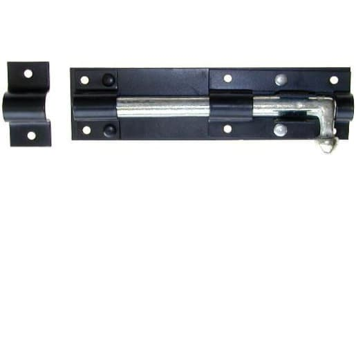 A Perry Tower Bolt Straight 200mm Black