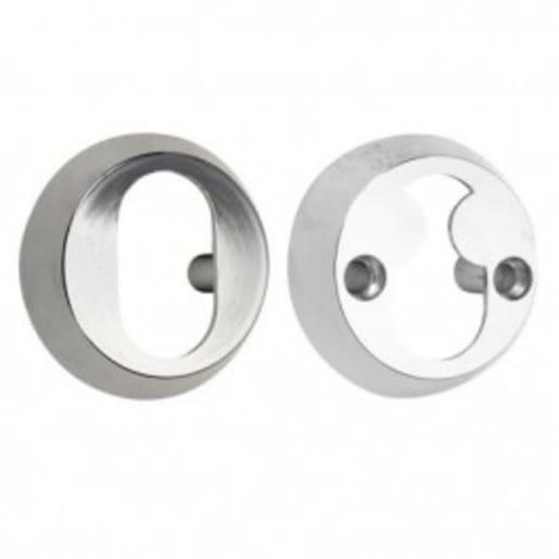 Assa External and Internal Cylinder Ring 13mm Satin Chrome