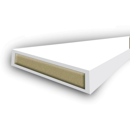 Astroflame Intumescent Fire Seal 10 x 2100mm White