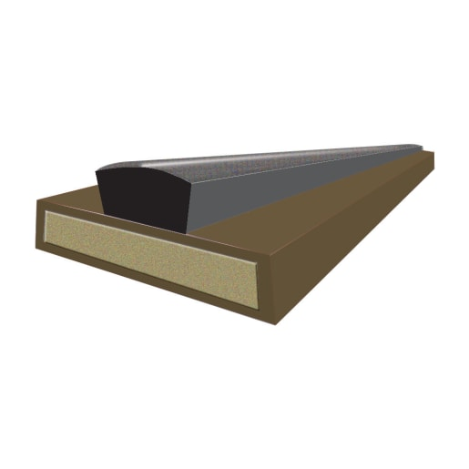 Astroflame Intumescent Fire and Smoke Seals 10 x 2100mm Brown
