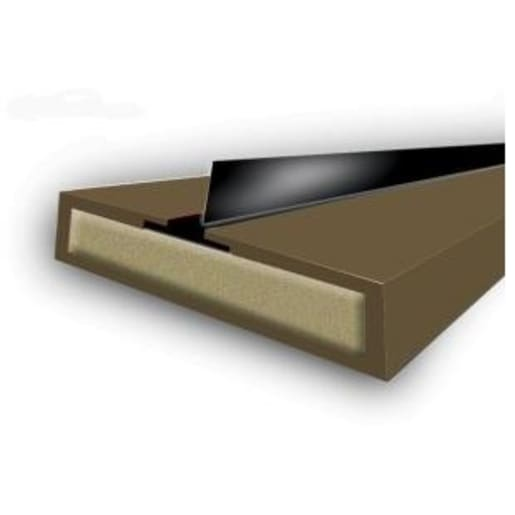 Astroflame Intumescent Fire Strip and Rubber Seal 2100 x 10x4mm Brown