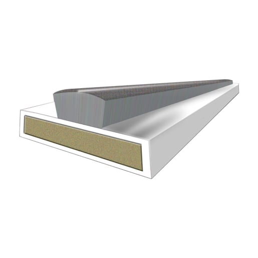 Astroflame Intumescent Strip Fire & Smoke 10 x 4 x 2100mm White