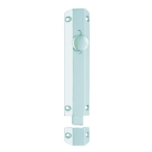 Carlisle Brass Door Surface Bolt 202 x 36mm Satin Chrome