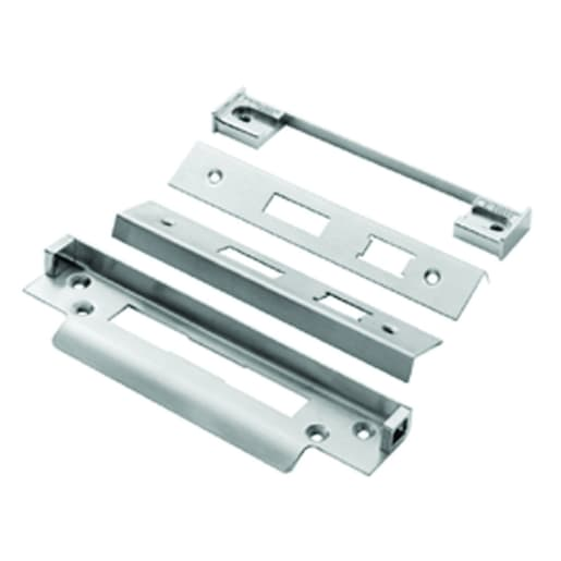 Eurospec Easi-T Rebate Set Sashlock 13mm L Satin Stainless Steel