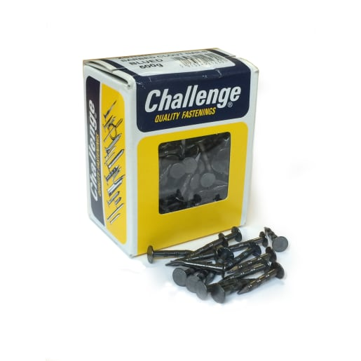 Challenge Barbed Clout Nail 25mm L Blued