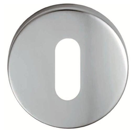 Eurospec Escutcheon Lock 8 x 52mm Satin Anodised Aluminium